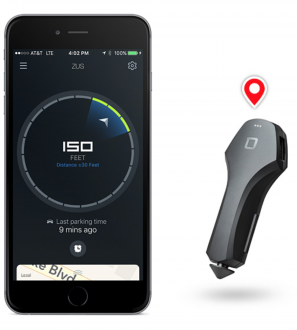 ZUS Car Finder and 2x Speed Device Charger