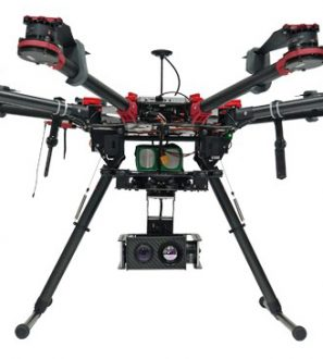 USG-302 Multi Sensor 3-Axis Gyro-Stabilized Gimbal