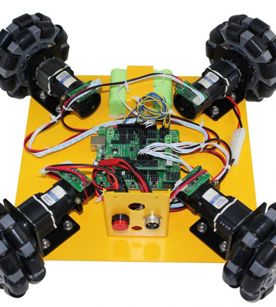 Omni Wheel Arduino Compatible Mobile Robotics car