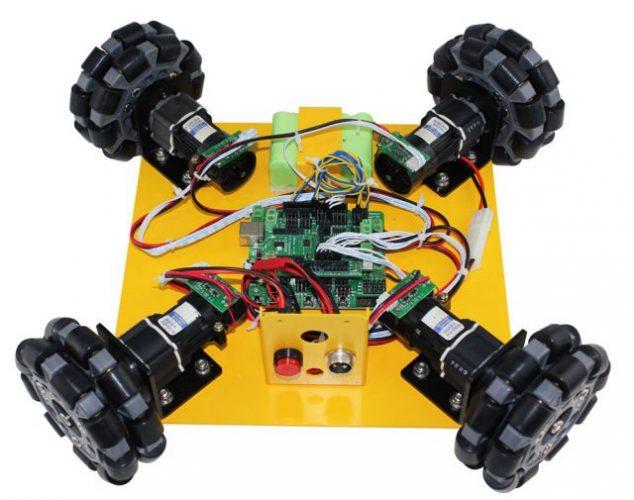 Omni Wheel Arduino Compatible Mobile Robotics car