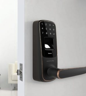 Fingerprint and Touchscreen Smart Lock