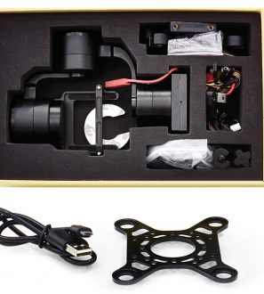 3 Axis Brushless Gimbal for Camera Drones UAV Aircraft for Ideafly Hero 550 Storm 800
