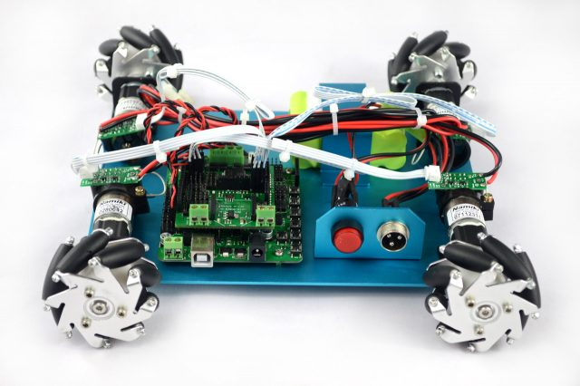 4wd 60mm Mecanum Wheel Arduino Robot Kit 10021