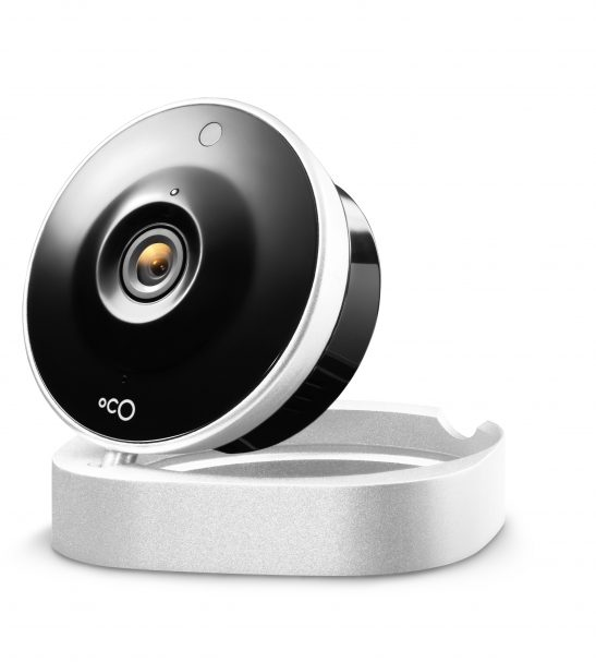 oco simple hd home monitoring camera with cloud storage. Black Bedroom Furniture Sets. Home Design Ideas