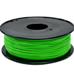3D Printer Filament PLA Green Color 1.75mm/3mm