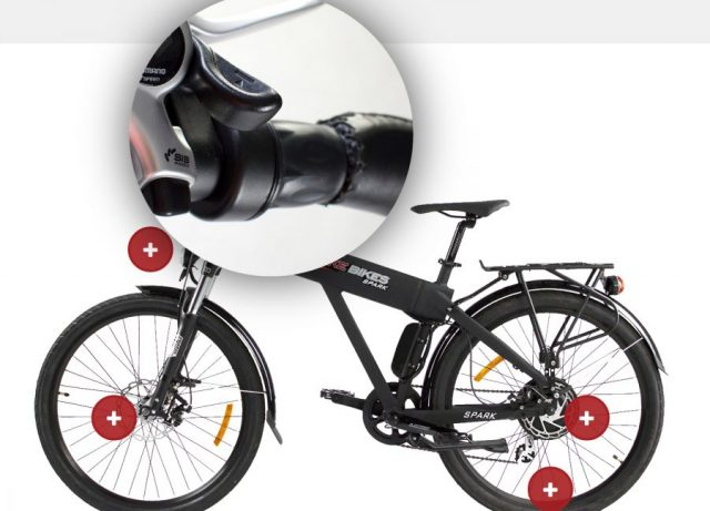 Versatile Electric Bbicycle Throttle