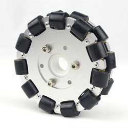 Double Aluminum Omni Wheel Basic