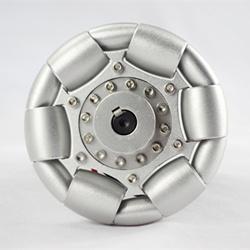 100mm Aluminum Single Omni Wheel for Ball Balance Ballbot 14179