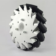 (6 Inch) 152mm Aluminum Mecanum Wheel Basic Left 14165
