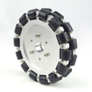 152mm Double Aluminum Omni Wheel Basic