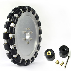 203mm Double Aluminum Omni Directional Wheel Basic