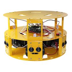 3wd 100mm omni wheel arduino robotics car