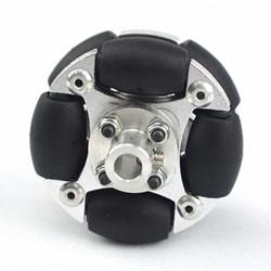 48mm Aluminum Double Omni Wheel Basic