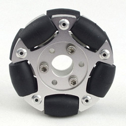 60MM Double Aluminum Omni Wheel Basic