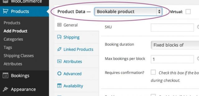 Bookings Plugin Features