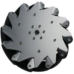 (10 inch) 254mm Aluminum Mecanum Wheel Right/Bearing Rollers 14131R