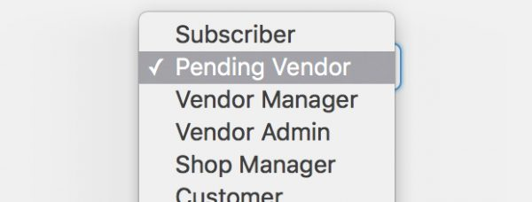 Multiple vendor settings