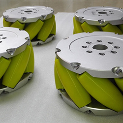 A Set Of 12inch (305mm) Heavyduty Industrial Mecanum Wheel Nm305A