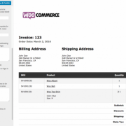 WooCommerce Print Invoices and Packing Lists Plugin