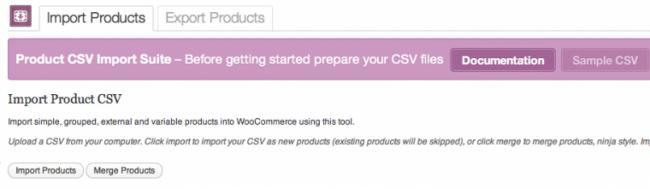 WooCommerce Product CSV Import Plugin