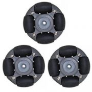 A Set Of 48mm Omni Wheel For LEGO NXT And Servo Motor