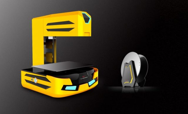 Automatic Foldable 3D Printer