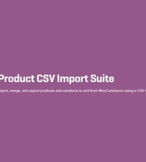 Import, merge, and export products and variations to and from WooCommerce using a CSV file.