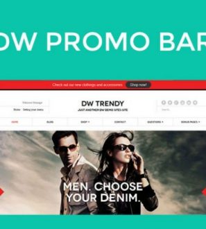 Free Website Promotion Bar WordPress Plugin