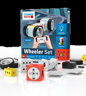 Tinkerbots Wheeler Set Robotic Building Kit