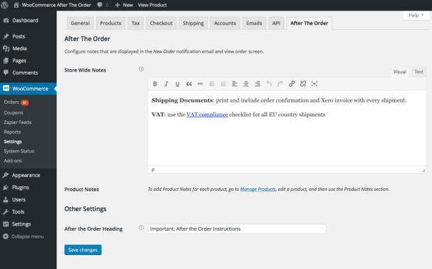 Order management plugin for WooCommerce