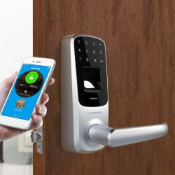 Bluetooth Enabled Fingerprint and Touchscreen Smart Lock