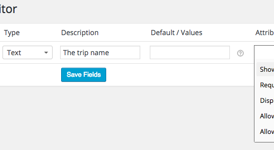Creating an Admin Order Field