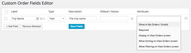 Creating an Admin Order Field