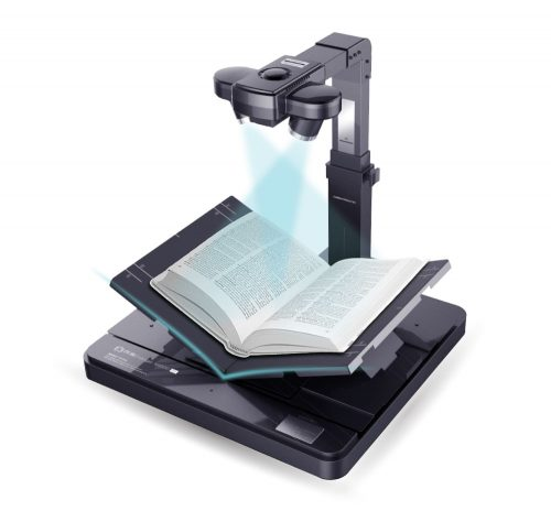High-speed professional book scanner