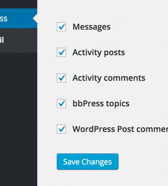 Reply by Email to almost any BuddyPress notification