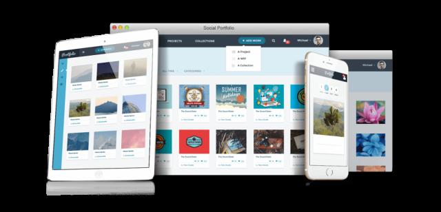 Start your own portfolio sharing website similar to Dribbble or Behance
