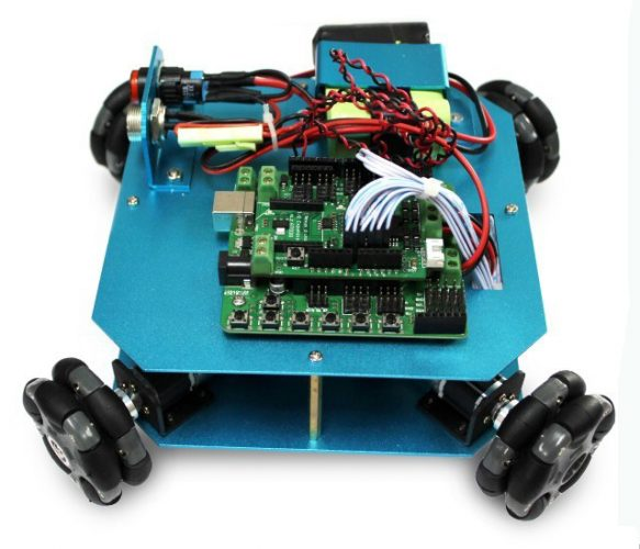 Omni wheel arduino robot kit is a wd mm