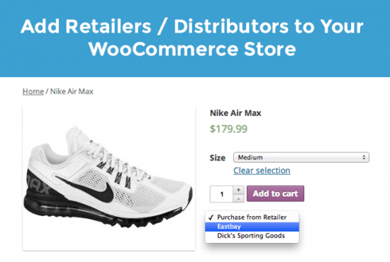 Add External Links for Product Retailers or Distributors to Your Products