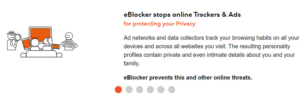 eBlocker Stops Online Trackers and Ads