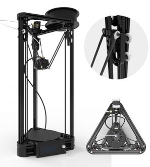 Newest Kossel 3D Printer AUTO LEVELING unassemble Pulley Version DIY Big Printed Size