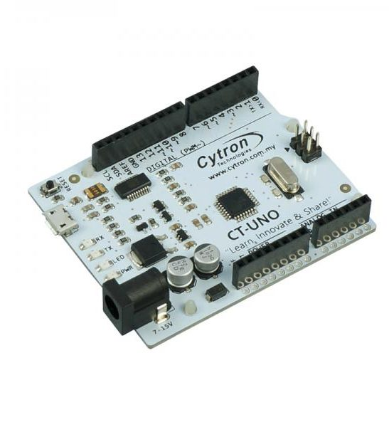 The CT-UNO combines the simplicity of the UNO Optiboot bootloader