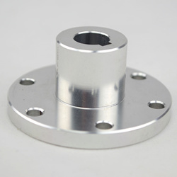 12mm Key Hub 18017 universal Aluminum hubs are key-locked and loctited to the motor shaft