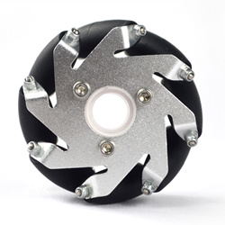 60MM Aluminum Lego Compatible Mecanum Wheel Basic Left 14159L