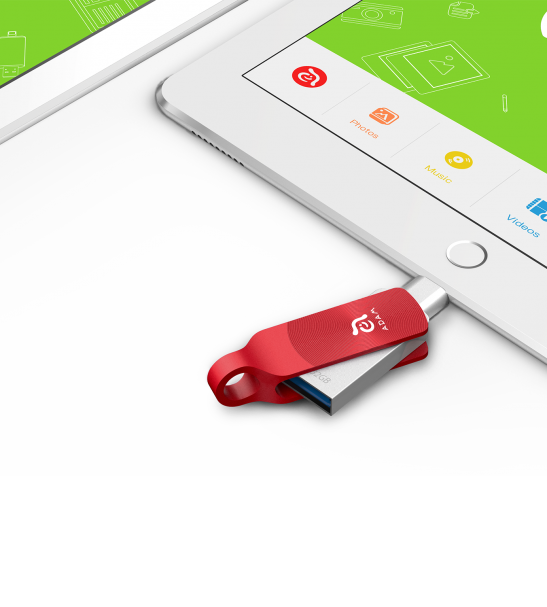 32 GB Adam Red USB Memory for mobile Devices