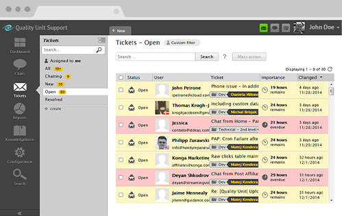 Helpdesk Software Live Agent