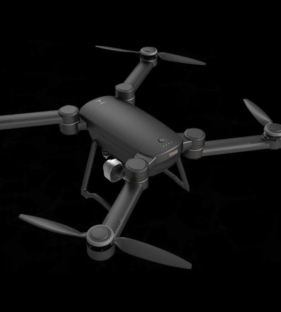 Portable Quadcopter Drone with 4K Camera