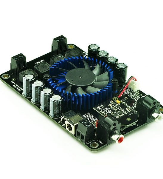2 x 100W Class D Bluetooth Audio Amplifier Board