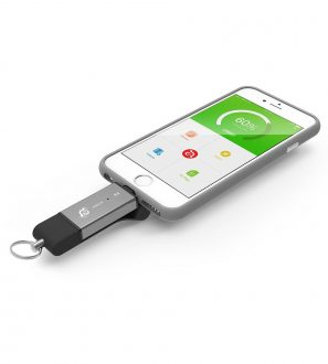 iKlips DUO 32GB to easily and securely share your content between your Mobile Devices