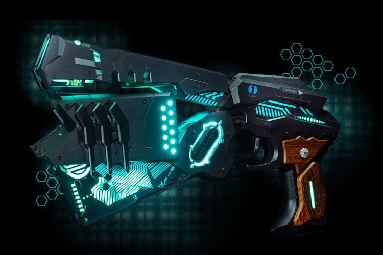 Automatic Transformation Gaming Gun