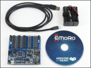 EMoRo 2560 controller is the first Arduino compatible controller with CE certification